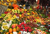Spanish Food - Fruit market