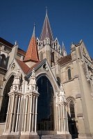 Swiss Architecture - Notre Dame in Lausanne