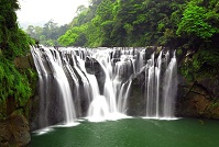 Taiwanese Geography - Waterfall