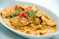 Thai Food - Coconut curry