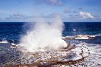 Tongan Geography - Blowholes