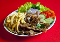 Turkish Food - Doner kebab