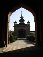 Indian Architecture - Jama Masjid in Srinagar