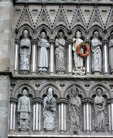 Trondheim, Norway - Details on Nidaros Cathedral