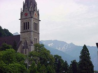 Liechtenstein Architecture - Vaduz Cathedral