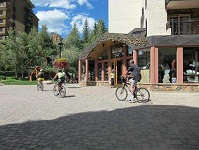 American Culture - Bikers in Colorado